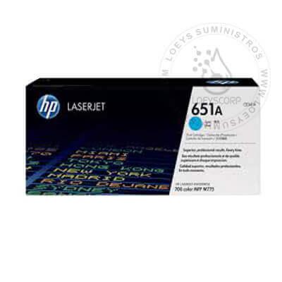 TONER HP 651A CYAN