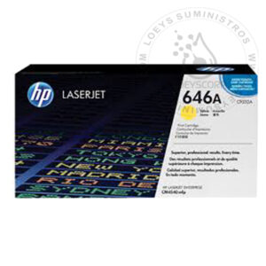 TONER HP 646A YELLOW-AMARILLO