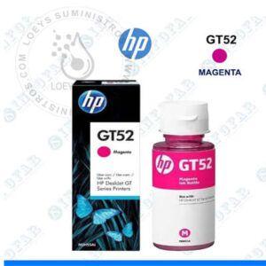 Botella de Tinta HP GT52 Magenta Original