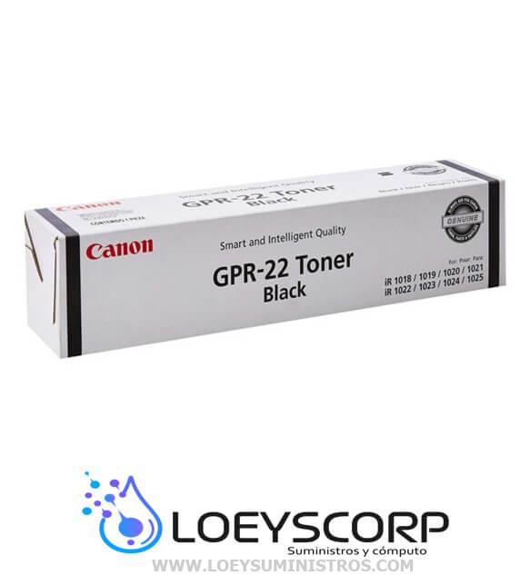 TONER CANON GPR-22
