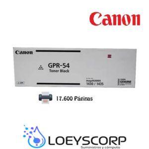 Toner Canon GPR-54 Negro 17.600 Paginas