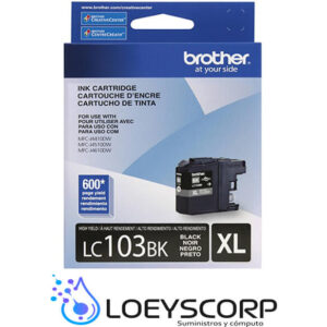 Cartucho de Tinta Negro Brother LC-103BK