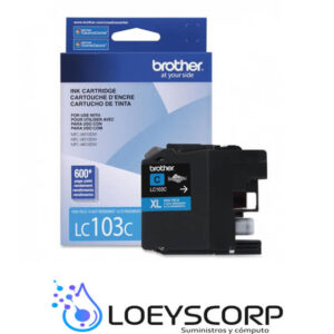 TINTA BROTHER LC103 CYAN