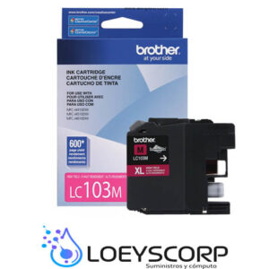 CARTUCHO DE TINTA BROTHER LC103 MAGENTA