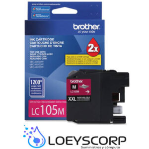 CARTUCHO DE TINTA BROTHER LC105 MAGENTA