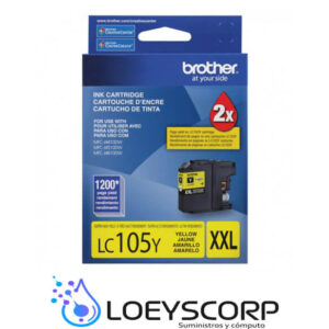 TINTA BROTHER LC105 AMARILLO