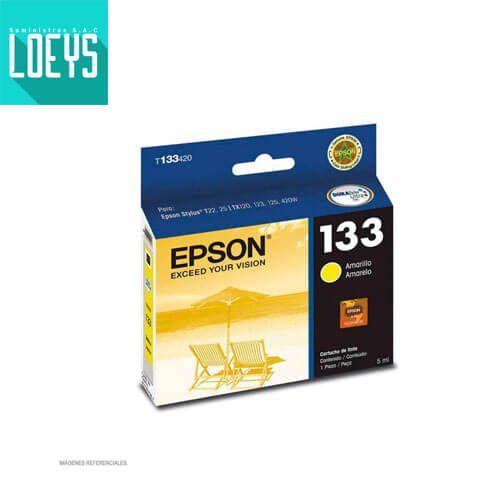 TINTA EPSON 133 T133420 AMARILLO