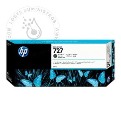 TINTA HP 727A C1Q12A 300ML MATTE BLACK ORIGINAL