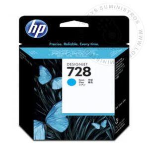 TINTA HP 728 40ML CYAN ORIGINAL