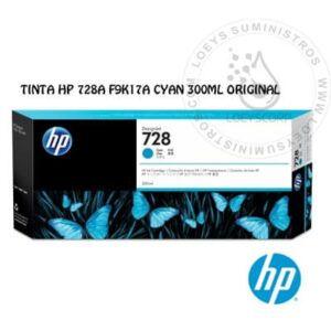 TINTA HP 728A CYAN