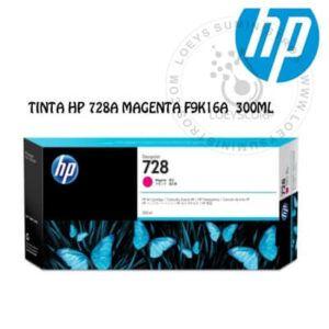 TINTA HP 728A MAGENTA