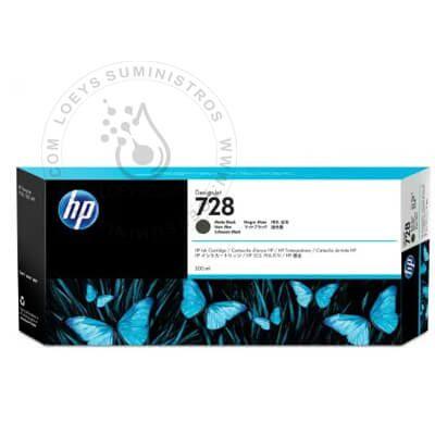 TINTA HP 728a MATTE BLACK