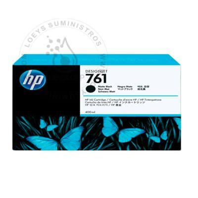 TINTA HP 761 CM991A MATE BLACK 400ML
