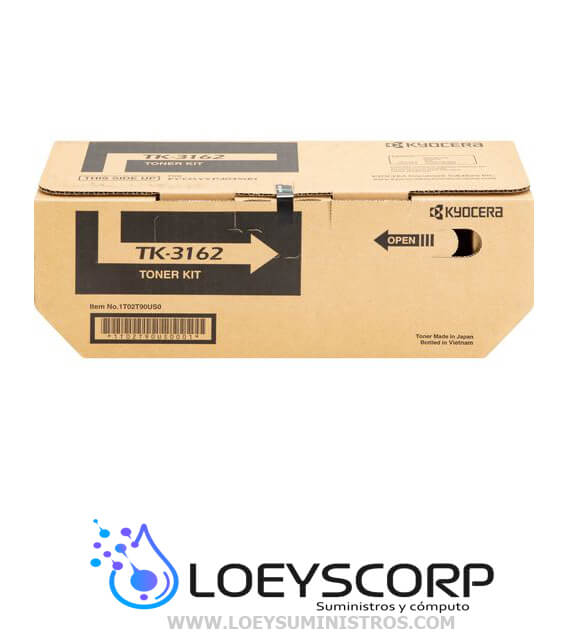 TONER TK-3162 KYOCERA 12500 páginas