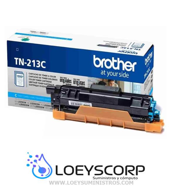 Toner Brother Tn-213C Cyan 1300 Paginas original