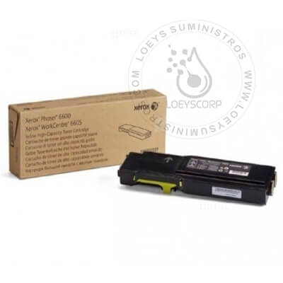 TONER XEROX 106R02235 YELLOW