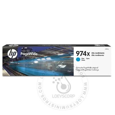 Tinta HP 974xl Cyan L0R99AL 7,000 Paginas alta capacidad