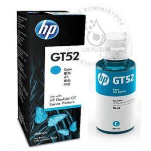 Tinta HP GT52 Cian original