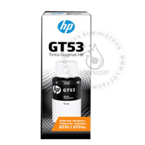 Tinta HP GT53 Negra 1VV22AL Original