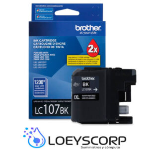 CARTUCHO DE TINTA BROTHER LC107 NEGRO