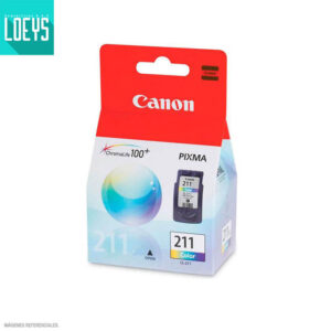 CARTUCHO TINTA CANON CL-211 9ML MP250 IP2700 COLOR