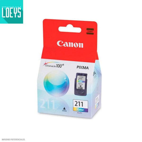 CARTUCHO TINTA CANON CL-211 9ML MP250 IP2700 COLOR