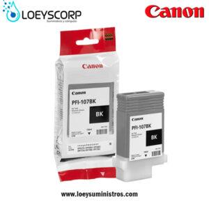 Tinta Canon PFI-107BK 130ml Negro